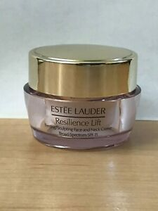 Estee Lauder Resilience Lift Firming/Sculpting Face Neck Creme SPF15 0.5 oz 15ml