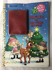 Rudolph The Red-Nosed Reindeer Golden Books Make Your Own Decorations 2000