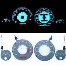 INDIGLO GLOW GAUGE DASH FACE EL CLUSTER for ACURA INTEGRA GSR 94-01