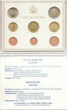 2005 Vaticano Vatican Vatikan Sede Vacante Set Divisionale Euro 8 Monete Foto
