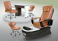 Psd 300 Pedicure Mani Stool Marble Composite Spa Base Customer Chair Package