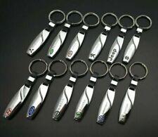Zinc Alloy Keychain Keyring Pendant Key Holder For Audi BMW Logo