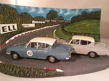 Vanguards 1/43 RD1002 Ford Classic 109E 2 Piece Set & Brands Hatch Diorama