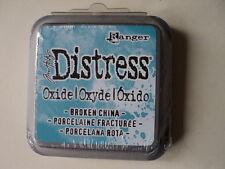 "TIM HOLTZ DISTRESS OXIDE INK PAD BROKEN CHINA FULL SIZE 2"" BNIP *LOOK*"