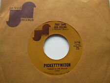 """PICKETTYWITCH """"THAT SAME OLD FEELING"""" / """"MAYBE WE'VE BEEN LOVING TOO LONG"""" 7"""" 45"""
