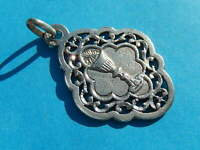 MEDAILLE  ARGENT  SOLID SILVER COMMUNION CALICE  AJOUREE OPEN WORK THFR