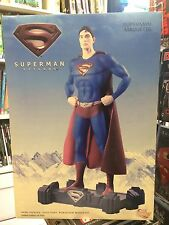 DC Direct SUPERMAN RETURNS MAQUETTE STATUE , Brandon Routh,  MIB, 2006