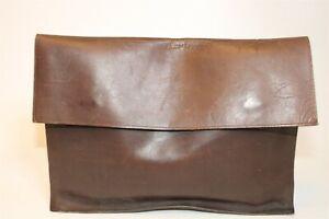 Vintage Village Tannery Designs By Sevestet New York Large Leather Portfolio Bag