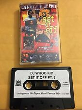 DJ Whoo Kid Set It Off #3 Queens Tape Kingz NYC 90s Hip Hop Mixtape Cassette