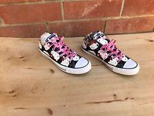 NEW Converse Hello Kitty Low Top Sneaker , Black / White , Size 10 Women