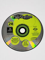 PS1 PlayStation 1 Official U.S. Magazine Issue 28 Demo Disc - Tested