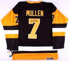 Joe Mullen Signed Pittsburgh Penguins Jersey (PSA COA)