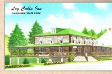 Log Cabin Inn Caledonia State Park Fayetteville,PA Chrome Postcard