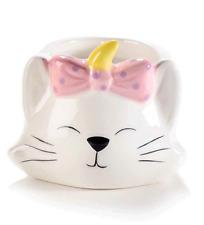 Bougie Pot En Céramique En Forme De Tête De Chat