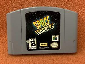 Space Invaders Nintendo 64 N64 Original Authentic Retro Classic Game!