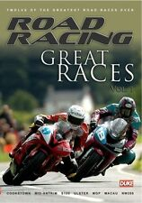 Road Racing - Great Races Vol 1 (New DVD) Guy Martin Ian Lougher Steve Plater