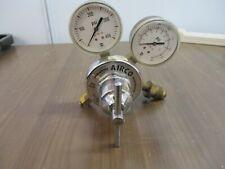 Airco Argon Nitrogen Helium Gas Regulator 806 9605 580 Cga 3000 Psi Used