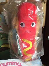 Kidrobot Yummy World Heidi Kenny Frankie Hot Dog 10-inch
