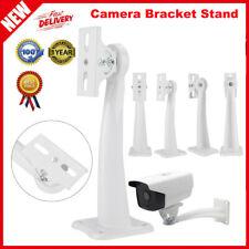 Universal Camera Bracket Wall Mount Stand For CCTV Surveillance Steel Iron White