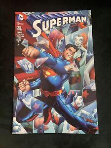 SUPERMAN #50 AMANDA CONNER EXCLUSIVE HARLEY QUINN 1