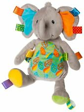 Taggies LITTLE LEAF ELEPHANT SOFT TOY Baby Comforter Soft Toys Activities BN