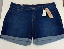 Levis NEW Midrise Womens Denim Classic Short 22W (Waist: 44 inches) $44.50