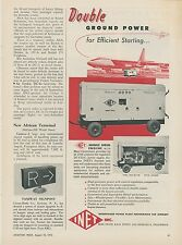 1953 Inet Aircraft Power Plant Ad mobile Diesel Engine Aviation Airplanes
