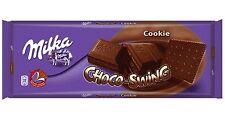 Tablette de 300 gr de chocolat Milka chocoswing cookie, livré neuf emballée.