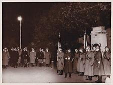 VERA FOTO ONORI AD UMBERTO II GERARCHI FASCISTI E REGIO ESERCITO MANTOVA ? 8-71