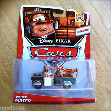Disney PIXAR Cars WAITER MATER diecast 2013 WHEEL WELL MOTEL theme 11/11 DELUXE