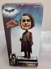 """NECA """"The Joker w/pen - The Dark Knight"""" Headknocker NIB"""