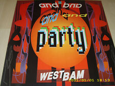 Westbam and Party Club Mix, and Conga Dub Mix, Vinyl Maxi Single von 1989