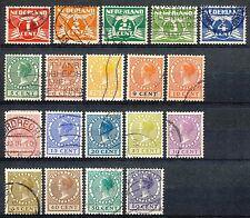 Nederland  144 - 162 gebruikt