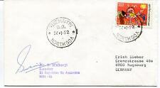 1992 Northgoa Dr Mukerji XI Expedition Antarctica Polar Antarctic Cover SIGNED