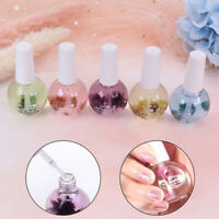Cuticle Nail Oil Treatment Flowers Nutritious Gel Nail Art Nail Oil Repair na DP