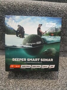 Deeper CHIRP + / Castable, Wireless, GPS Enabled, GPS Fish Finder / Carp Fishing