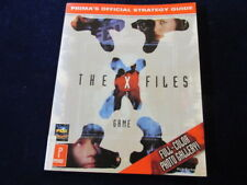 The X Files Game Prima's Official Strategy Guide Book w/Full Color Photos A61