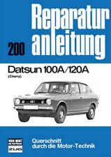Datsun 100 120 A Cherry Reparaturanleitung Reparatur-Handbuch Reparaturbuch Buch