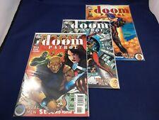 Doom Patrol # 1 - 3 DC Comics 2009 Keith Giffen Negative Man Robotman Rita Farr