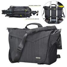 Reino Unido Cámara impermeable bolsa de gran capacidad SLR DSLR Sling Bag fotografía Caja de lente