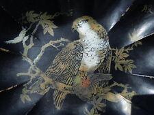 Ramasse-miettes décor d'un aigle posé sur une branche époque Napoléon III