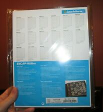 2x Clear Plastic Certified Coin Slab Leuchtturm Encap Pages for Ngc Pcgs other