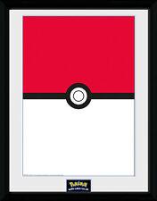 Pokemon Poster im Rahmen Pokeball 45 x 34 cm NEU & OVP