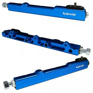 Blue High Flow Fuel Rail for Honda Civic and Acura Integra B16 B17 B18 B20 CRV