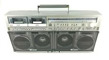 Sharp GF 777 Stereo Boombox Ghettoblaster Mechanically Refurbished *PLEASE READ*