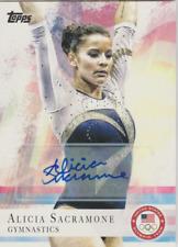 Alicia Sacramone 2012 Topps US Olympic Team autograph auto card 11