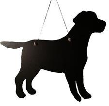 "Labrador Dog Gift -Unique 12"" Handmade Dog Breed shaped Chalkboard"