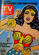 TV Guide 1977 Wonder Woman Lynda Carter Charlie's Angels V25N5 #1244 EX/NM COA
