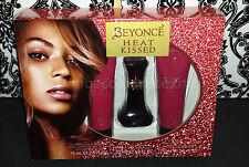 (1) Beyonce Heat Kissed Gift Set - Eau de Parfum, Shower Gel, Body Lotion