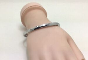 """Kate Spade Find the Silver Lining Silver Bangle, 8""""/20cm, RRP £40"""